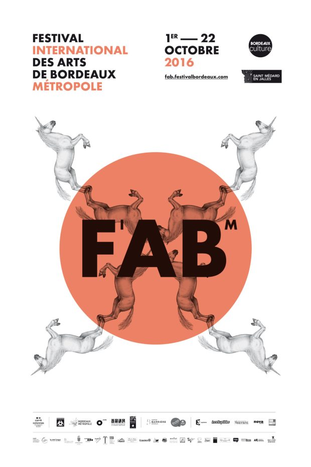 Carte de FAB Festival Internacional de Bordeaux Metropole