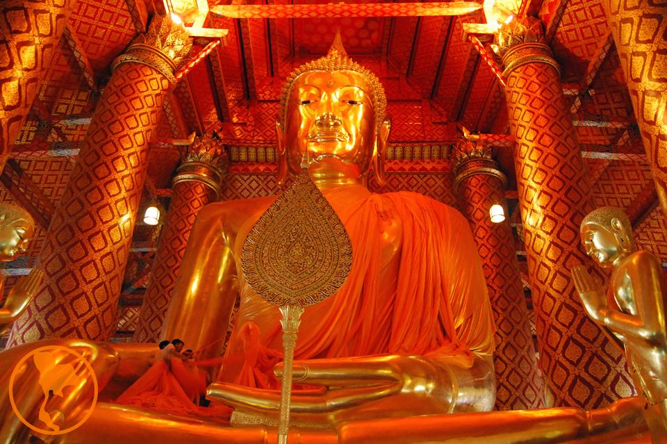 Wat Phanan Choeng - Ayutthaya - Descubre Tailandia
