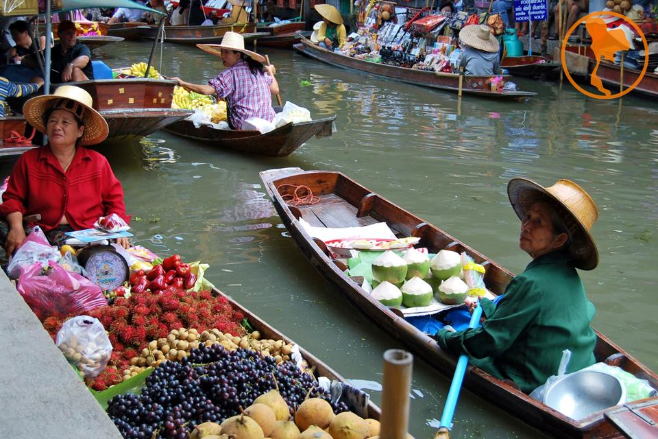 Damnoen Saduak - Descubre Tailandia