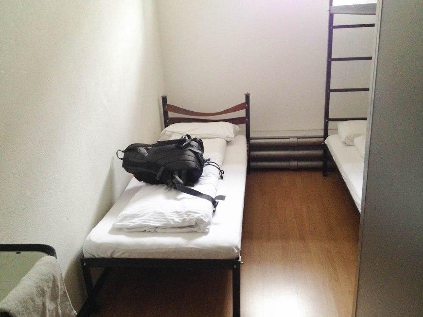 Habitación del hotel prisión de Lucerna