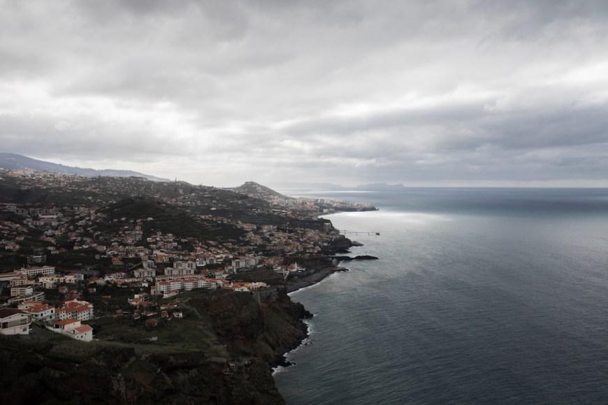 Sur de Madeira visto des del Teleferico do Rancho
