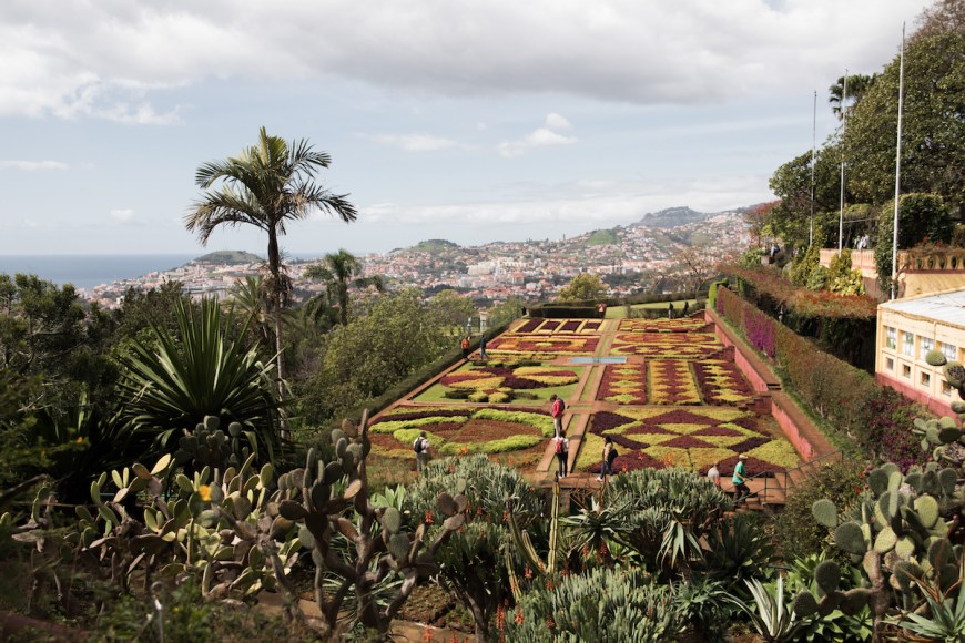 Jardín Botánico de Funchal en Madeira