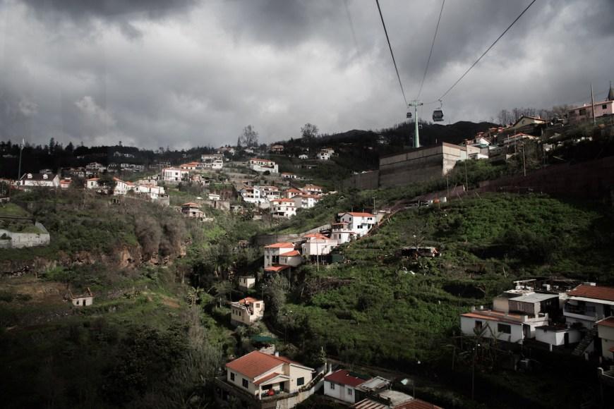 Funicular do Monte en Funchal.