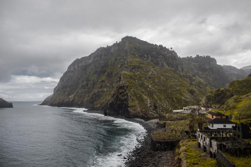 Ruinas de Sao Jorge en el noreste de Madeira