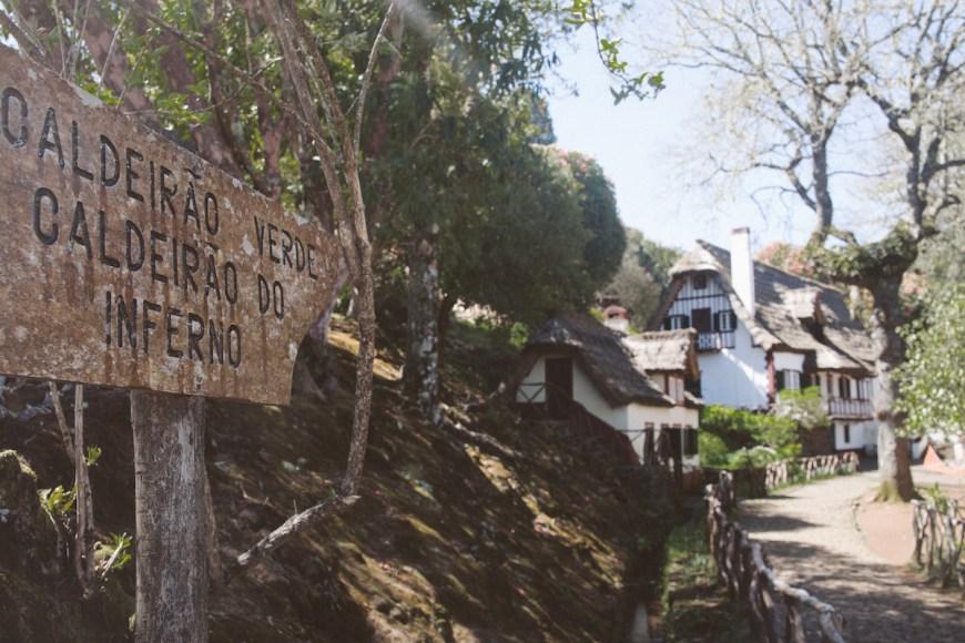 Vereda do Caldeirao Verde en Madeira