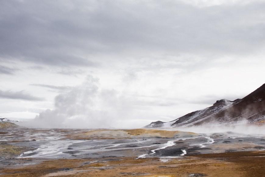 zone geotermica Hverir