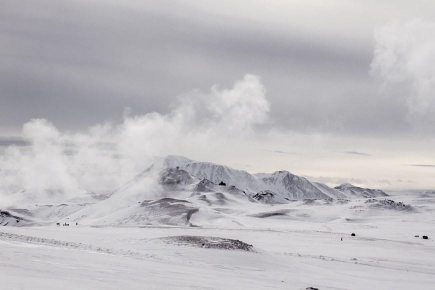 Volcan krafla des de la cima
