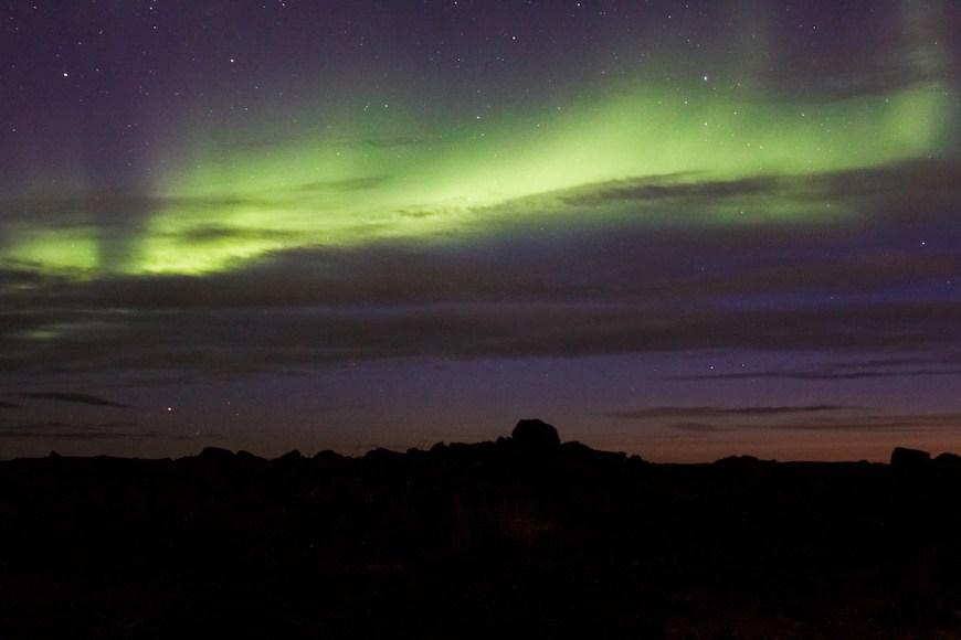 aurora boreal en islandia