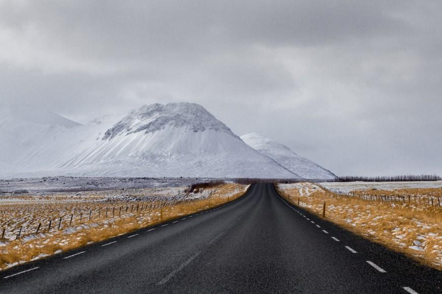 Carretera de varmahlid a reykavík