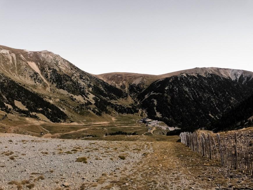Pistas de esquí de Vallter 2000 en verano