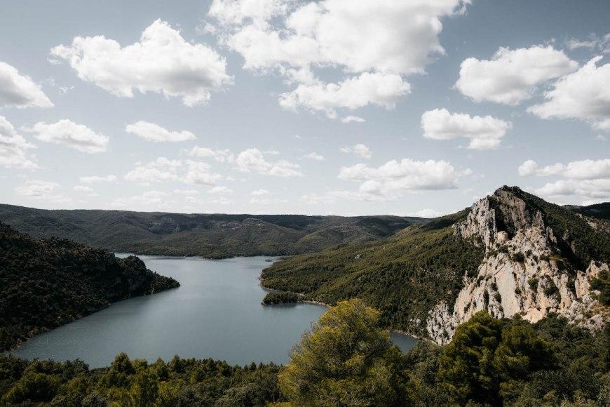 La Pertusa en el sur del Congost de Mont Rebei, Pallars Jussà