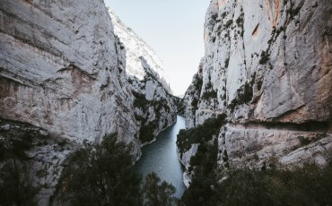 Congost de Mont Rebei en el Pallars Jussà