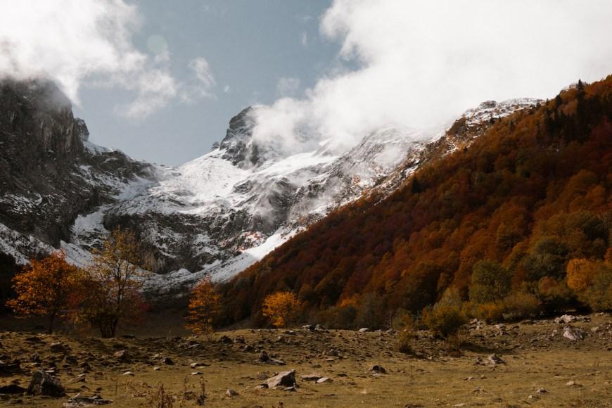 Artiga de Lin en otoño, la Val d'Aran