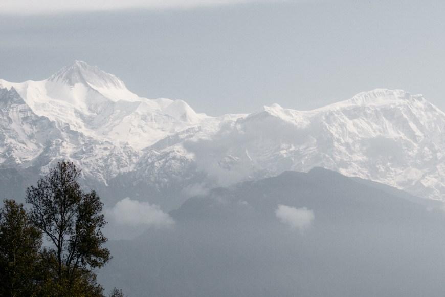 Annapurnas en Nepal
