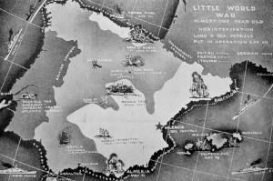 """""""The little World War"""", la pequeña Guerra Mundial"""