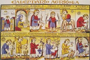 Calendario agrícola medieval