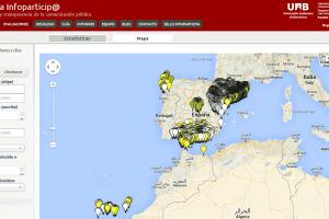 Mapa Infoparticipa