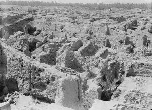 Ruinas de Babilonia hacia 1932
