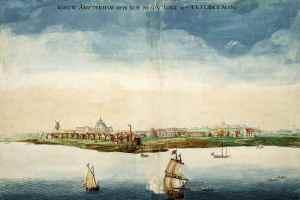 Nueva Ámsterdam en 1664