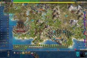 Captura de pantalla de un videojuego