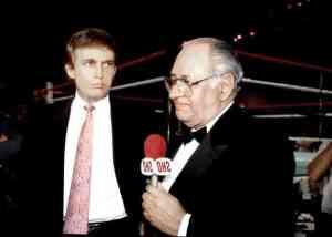 Ferdie Pacheco entrevista a Donald Trump antes de un combate