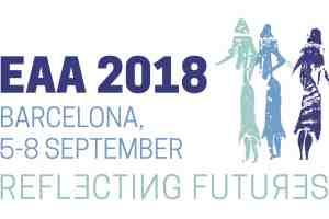 Cartel del EAA 2018 en Barcelona