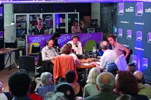 Emisión 50 aniversario de 'France Culture', la radio francesa por excelencia donde tienen cabida, entre otros intelectuales, los historiadores.