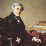 Retrato de Jules Michelet (1798-1874) por Thomas Couture (Wikimedia).