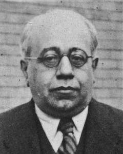 Manuel Azaña líder de la Izquierda Republicana 1933.