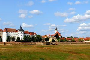 Vista panorámica de la ciudad de Torgau y el castillo Hartenfels (Dirk Röder).