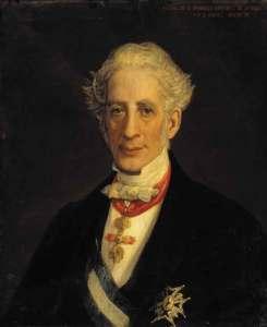 Retrato de Martínez de la Rosa. Artista desconocido (Wikimedia).