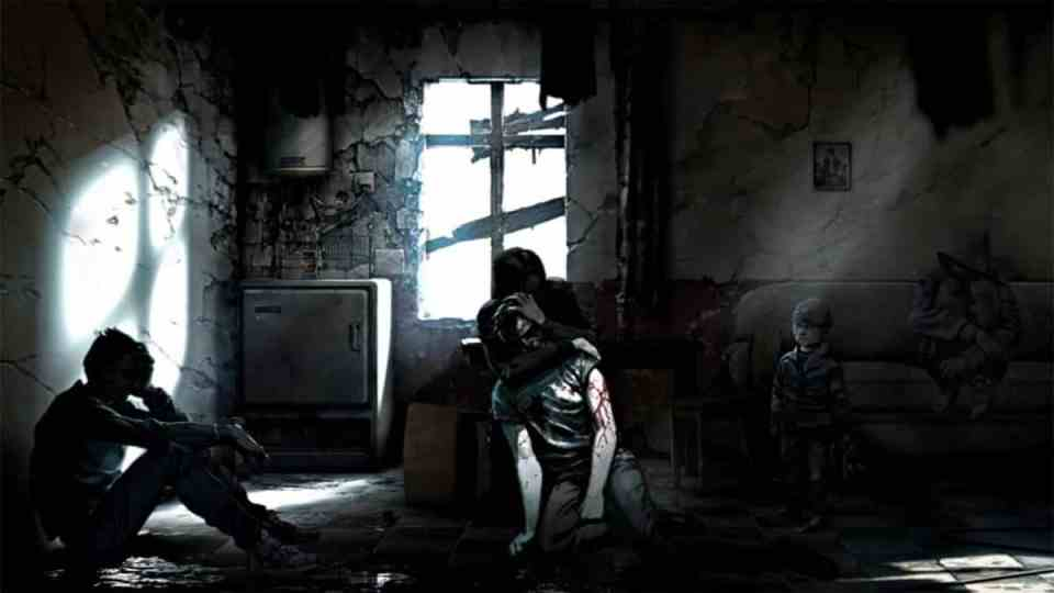 Imagen del videojuego This War of Mine.