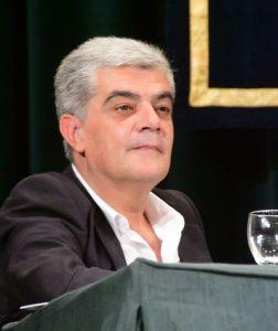 Abdón Mateos durante una conferencia de homenaje a Jorge Semprún en la UNED. 14 junio 2016.