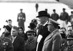Visita de Eisenhower a España en 1959. Wikimedia Commons