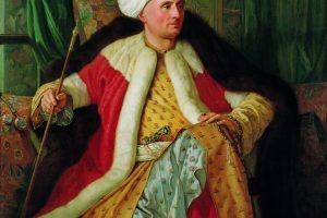 Un embajador francés vestido de otomano, pintado por Antoine de Favray (1766). Pera Museum, Estambul (Wikimedia).