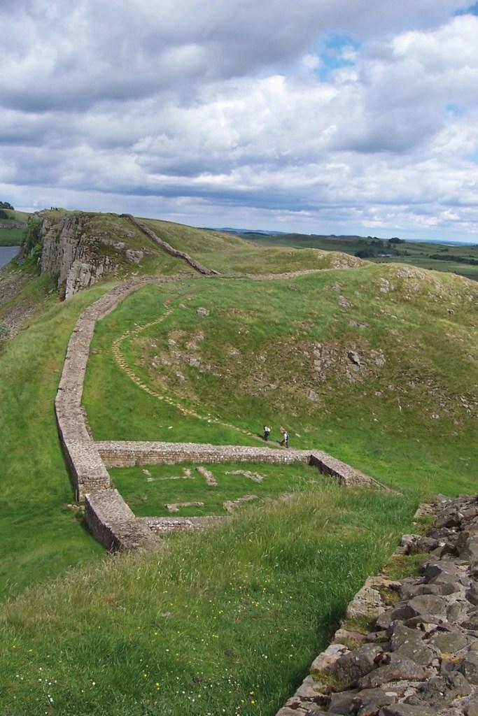 Muro de Adriano. (Wikimedia)