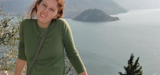 Marta em Lago de Como - Italia 2010