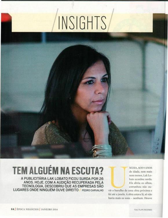 Época Negócios de Janeiro - Página 84 - Tem Alguém na Escuta?