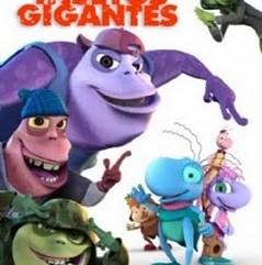Imagem do cartaz do vídeo, com desenho de vários personagens, todos insetos bonitinhos e coloridos de várias cores.