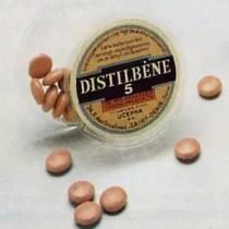 Distilbène 5 mg DES Drug Bottle manufactured by Ucepha on Flickr