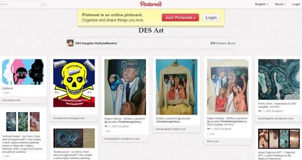 DES Art board on Pinterest