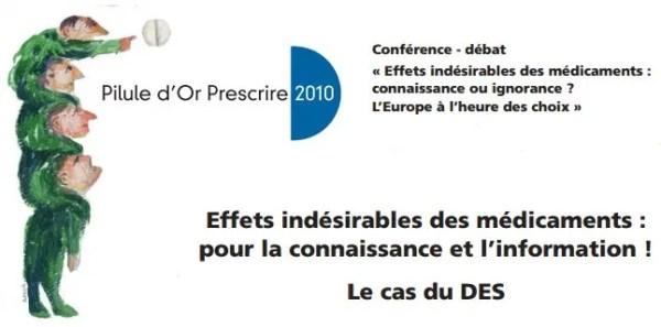 Effets indésirables des médicaments: pour la connaissance et l'information! Le cas du #Distilbene DES