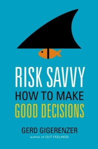 Risk Savvy book cover image