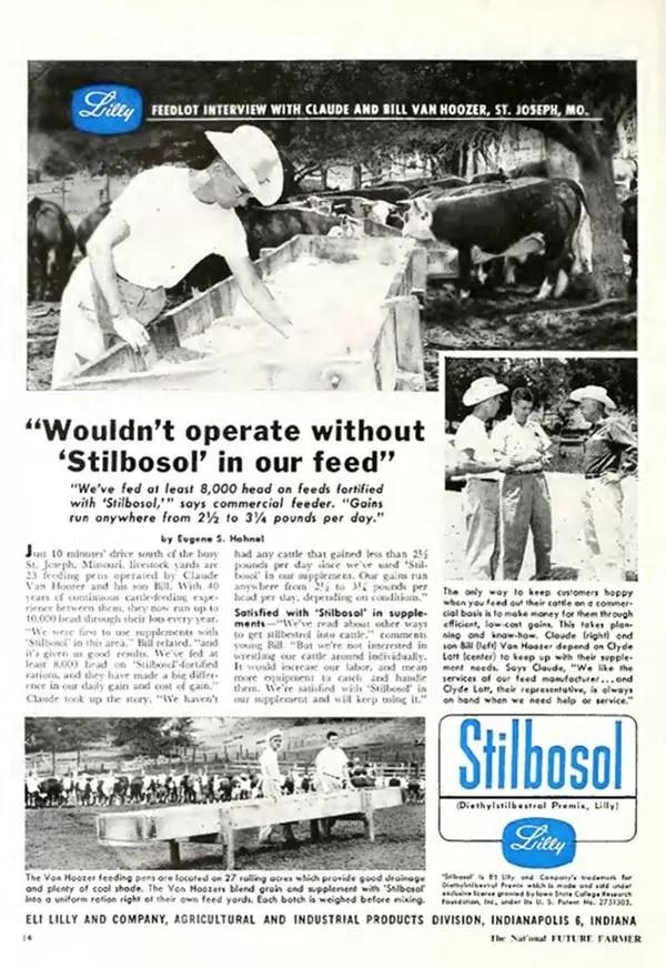 stilbosol 1957 poster