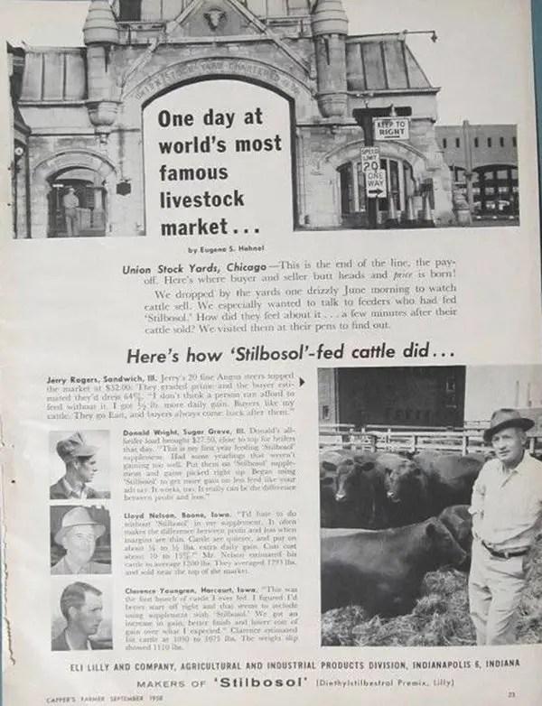 DES-Stilbosol-1958-Advert image