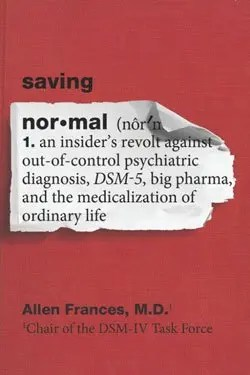 Saving-Normal book cover image.