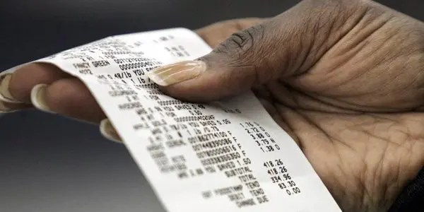 cash-register-receipt image