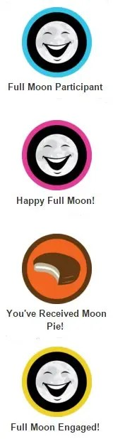 full moon icons