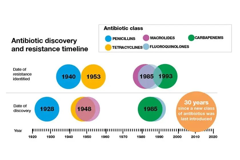 image of Antibiotic-timeline