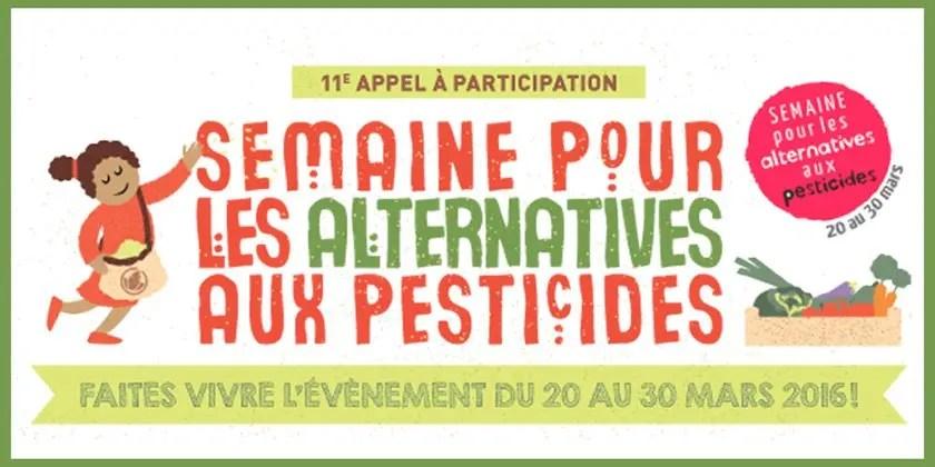 Comment remplacer les pesticides : une semaine pour s'informer